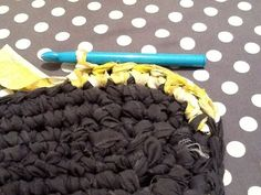 Make your own rag-rug out of old bed sheets!