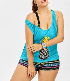GET $50 NOW | Join RoseGal: Get YOUR $50 NOW!http://m.rosegal.com/plus-size-siwmwear/padded-bra-pineapple-print-plus-1138717.html?seid=jma0fudksca9nf3pbjvo3b7q14rg1138717