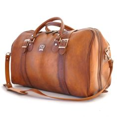 Love Leather Travel Bag | Handcrafted In Italy - Perito Moreno Leather Duffle, $599.00 (http://www.loveleathertravelbag.com/leather-duffle-perito-moreno/)