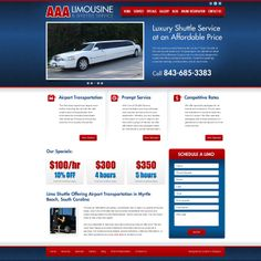 Need a ride? For an affordable price, you can now flash your ride with AAA Limousine & Shuttle Service. They just don't give you a lift, they also let you ride in style. AAA Limousine offers pure luxury when it comes to limousine and shuttle services. Check them out now!  For more #webdesigns, visit us at www.customadesign.com!