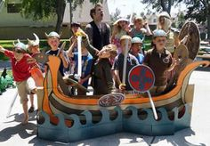 How to train your dragon birthday party. Decor ideas. Viking Party