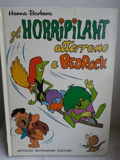 Gli Horripilant atterrano a Bedrock Hanna Barbera