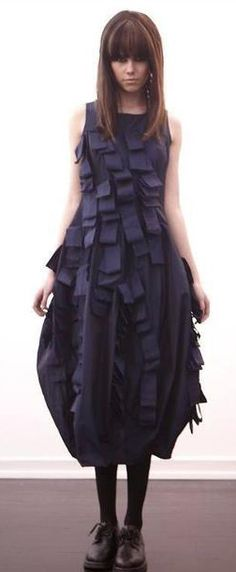 Ivan Grundahl fall 2012 dress