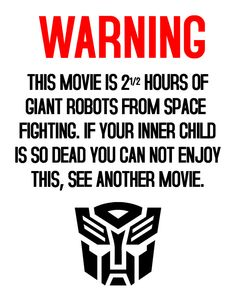 Transformers is one if my all-time favorites, so I had to share.