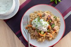 Fried Rice, Quinoa, Fries, Tofu, Lunch, Ethnic Recipes, Easy, Diet, Recipies
