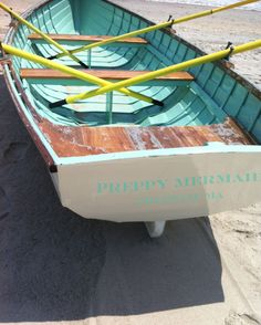 ~ row boat on the beach ~ Spring Summer, Summer Of Love, Summer Fun, Summer Time, Summer Dream, Old Boats, Swimming Holes, Once In A Lifetime, Wooden Boats
