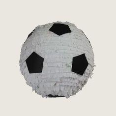 Piłka Nożna - piniata, soccer, football,  urodziny, party, garden party, przyjęcie, niespodzianka z cukierkami, prezent, gift, dzieci, dziecko fun