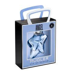 """Angel Eau de Parfum 15mL - """"Succombez à la tentation Angel... Retrouvez l'univers gourmand et le tourbillon d'émotions d'Angel dans son format miniature 15mL à emporter partout avec soi.   Angel est un parfum-star, mythique et cosmique, tant par sa fragrance et sa facette céleste que par son flacon facetté en forme d'étoile. Avec son sillage tendre, gourmand et envoûtant surdosé en patchouli,  Angel tisse une histoire unique avec celle qui le porte.    Un parfum féminin oriental gourmand,..."""