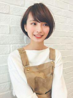 Long Faces, Short Cuts, Short Hair Styles, Hair Makeup, Hair Beauty, Women, Magic, Japanese, Instagram