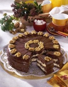 Schoko-Walnuss-Torte Rezept