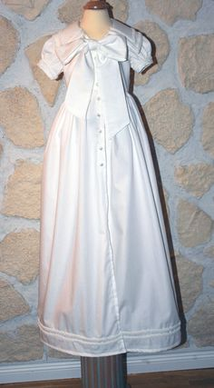 Christening Gown for boys in the famouse old english style