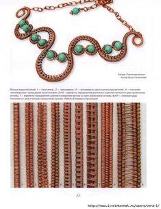 плетение из проволоки в технике wire wrap: 18 тыс изображений найдено в Яндекс.Картинках #wirejewelry