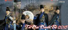 Thiếu Niên Tứ Đại Danh Bộ - The Four 2 (2015) Kung Fu Movies, Legends, Drama, Chinese, Asian, Film, Movie Posters, Fictional Characters, Movie
