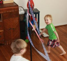 May Day and our DIY Maypole from Montessori Mischief
