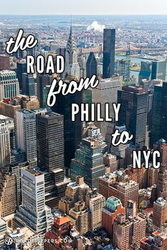 Follow this Philly to NY road trip for some awesome spots to hit along the way....may have to try this this summer