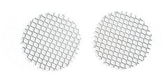 Sparks 50mm Plastic Mesh Replacement Lenses for Steampunk Goggles (Pair)