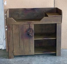 Delicieux Rustic Dry Sink That Would Make An Adorable Baby Changing Table!