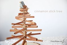 DIY cinnamon Christm