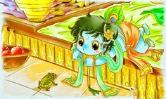 "Little Krishna Kemarin habis nonton ""Little Krishna the Darling of Vrindavan"" the movie di TPI ada yang nonton ga? Lord Shiva Pics, Lord Krishna Images, Krishna Pictures, Krishna Statue, Radha Krishna Photo, Krishna Radha, Little Krishna, Cute Krishna, Lord Krishna Wallpapers"