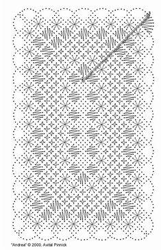 Miniature Bobbin Lace Tablecloth and Pattern Miniature tablecloth Crochet Pattern, Free Pattern, Bobbin Lacemaking, Bobbin Lace Patterns, Lace Heart, Lace Jewelry, Lace Making, Garter Stitch, Animal Design