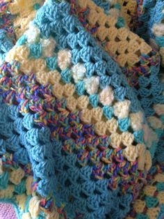 Check out this item in my Etsy shop https://www.etsy.com/ca/listing/273360118/60-inch-handmade-crochet-afghan-granny