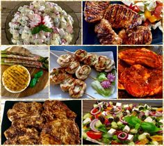 Pyszna sałatka do grilla! - Blog z apetytem Tandoori Chicken, Chicken Wings, Catering, Grilling, Salads, Bbq, Tacos, Food And Drink, Menu