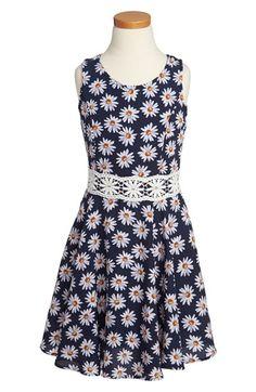 Kiddo Crochet Dress (Big Girls) | Nordstrom