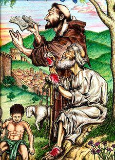 Frei Dito traz São Francisco para mais perto « Franciscanos.org.br
