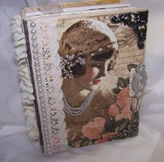This is a beautiful album that I just finished using Graphic 45's Retired and HARD TO FIND Le' Romantique collection.  It would make a beautiful Wedding, Bridal Shower, Anniversary, or any occasion Album.  Take a look.   http://cgi.ebay.com/ws/eBayISAPI.dll?ViewItem&item=201074359510