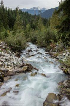 Wedgemount Stream, Wedge Mountain, British Columbia.  Photo by Matt Hardie  #Miessence #CertifiedOrganic