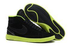 Mens Nike Lunar Blazer SB High Black Green