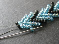 Inspirational Beading: Beading Tutorial: Connecting St. Petersburg Chain