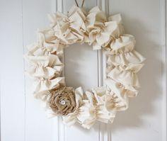 fabric wreaths