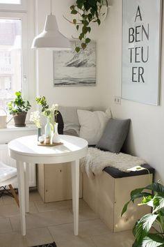 Inspiración para poner una mesa comedor en un espacio pequeño | Decoración