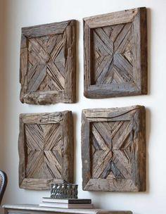 Wood plaques. HomeDecorators.com