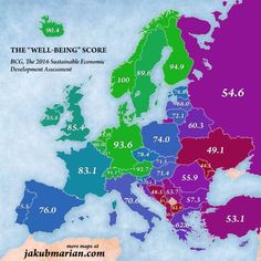Χάρτης: Οι καλύτερες χώρες για να ζεις στην Ευρώπη του 2016 - Κόσμος - NEWS247