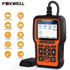 100/% NEW Universal Car Code Reader Foxwell NT301 OBD2 Scanner Diagnostic Tool
