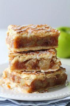 Best Recipes: APPLE PIE BARS