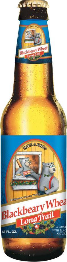Long Trail Blackbeary Wheat | American Wheat Beer | Long Trail Brewing Company