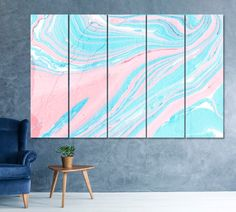 Pink Marble Wall Art Turquoise Marble Painting Marble Texture Art Pattern Art Abstract Background Illustration Art Marble Wallpaper Art by ArtWog Marble Texture, Texture Art, Pink Texture, Marble Wall, Pink Marble, Marble Painting, Painting Art, Oversized Wall Art, Thing 1