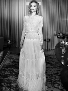 The Bridal Designer That Actually Made Me Like Wedding Dresses via @WhoWhatWear