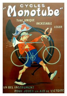 Cycles Monotube ~ Mich (Michel Liebeaux) | #Bicycles #Monotube #Mich #Cycles