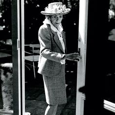 Love this Bruce Weber image of the classic Brooke Astor.
