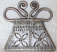 Antique Hmong Tribal Silver Soul Lock Pendant available at  http://www.sabaidesignsgallery.com/index.php?cat=c12_Tribal-Jewellery.html