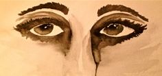 """""""Pollution to the Eyes"""" - watercolor"""