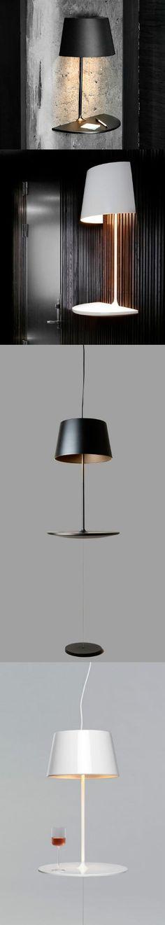 geek site - illusion wall lamp