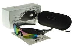 Oakley Sports Sunglasses black Frame multicolor Lens