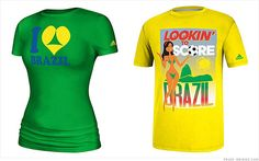 """Adidas T-shirts too sexy for Brazil -- Adidas gave new meaning to the term """"graphic tees"""" -- and 2014 World Cup host country Brazil didn't like what it saw."""