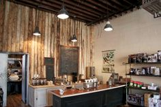 New coffee shop in NY, no espresso – only drip coffee. Finally!! I want to work here:)