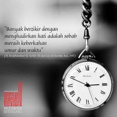 . Perbanyaklah berdzikir agar umur dan waktu kita semakin berkah Follow @IndonesiaBertauhidID Dan akun cadangan @indobertauhid @CyberMuslimCommunity #IndonesiaBertauhid #IslamRahmatanLilAlamin #CyberMuslimCommunity http://ift.tt/2f12zSN